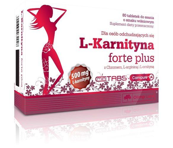 L-Karnityna Forte Plus 80tab