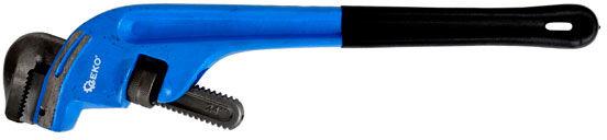Klucz do rur stillson odgięty 18'' 490mm typ żaba