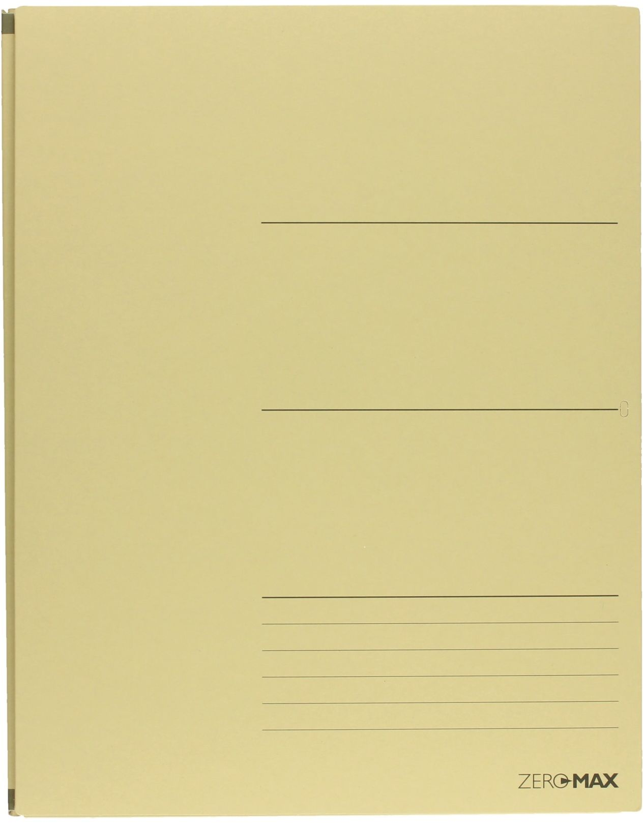 Teczka skoroszyt A4 beżowa ZeroMax 205131