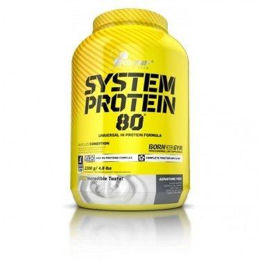 OLIMP System Protein 80 2200g BIAŁKO WITAMINY
