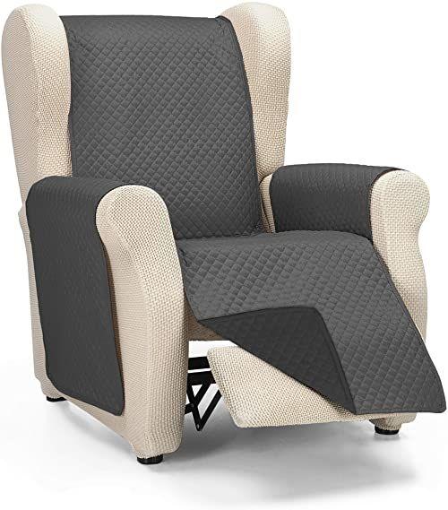 Martina Home Diamond narzuta na sofę, pikowana, antracytowa/czarna, 1 kwadrat/Relax