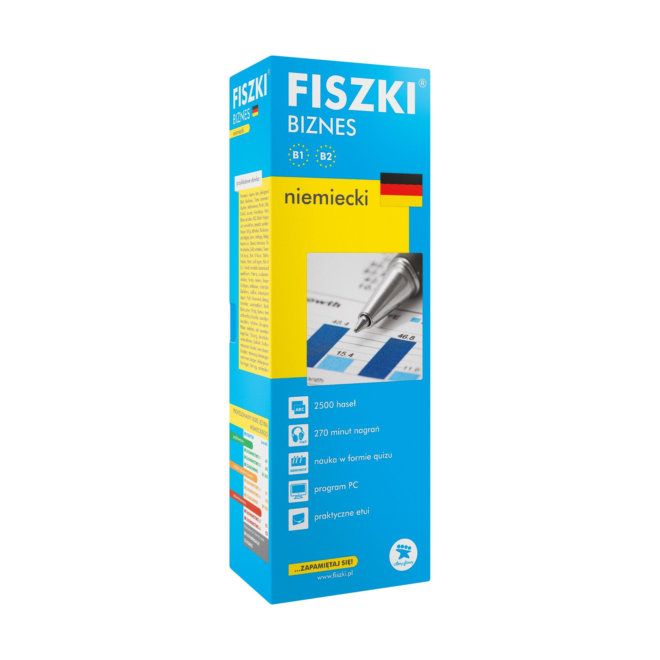 FISZKI - niemiecki - Biznes (B1-B2)