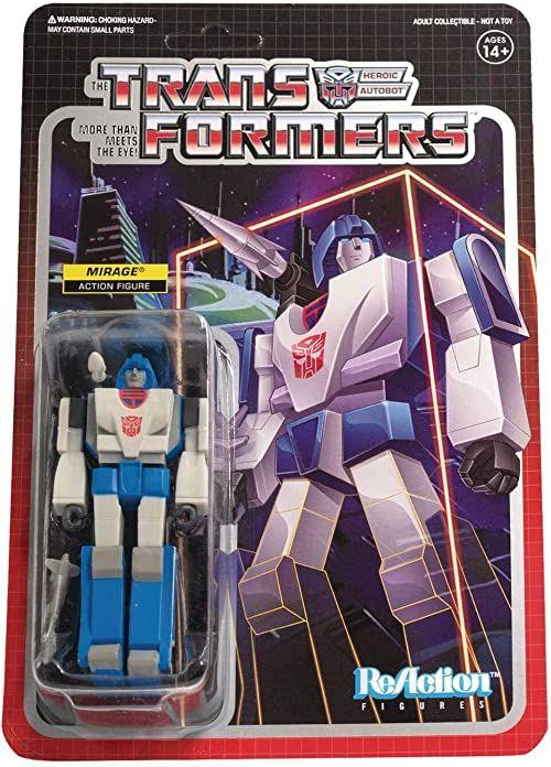 Transformers ReAction Figures Wave 2 - Mirage