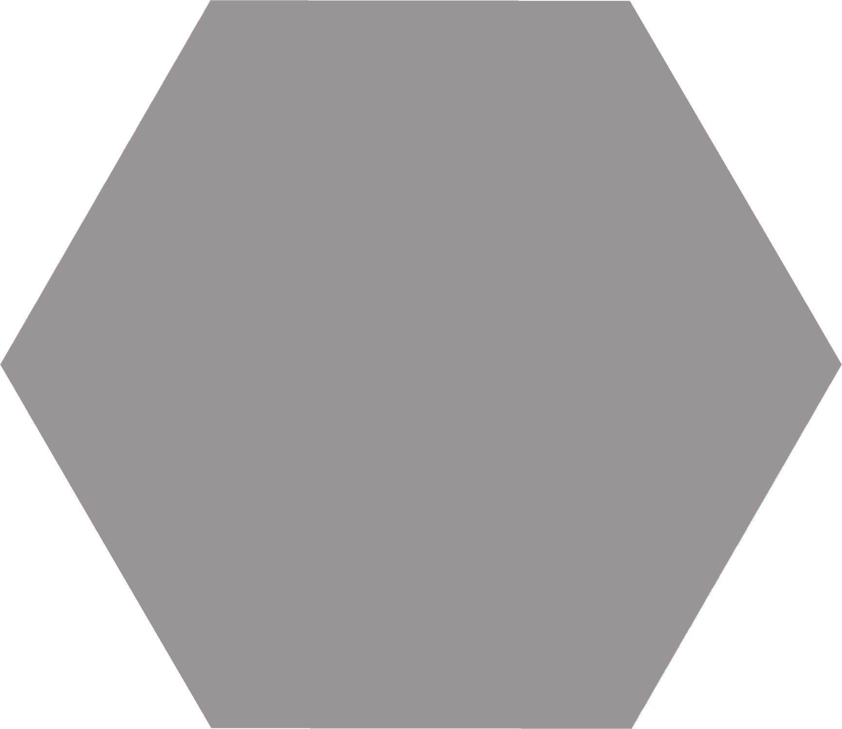 Hex 25 Basic Grey 22x25 Płytka heksagonalna