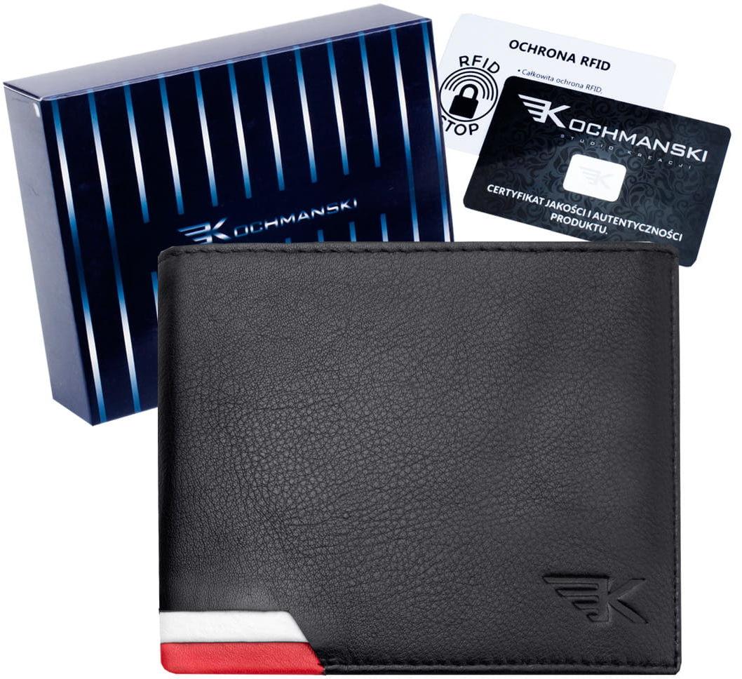 KOCHMANSKI skórzany portfel męski PREMIUM 1294