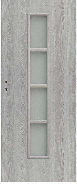 Drzwi pokojowe Olga 80 prawe dąb szary