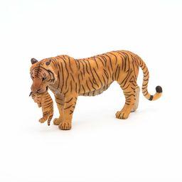 Papo 50118 tygrys z młodym zwierzakiem dzikie zwierzęta świata figura, wielokolorowy