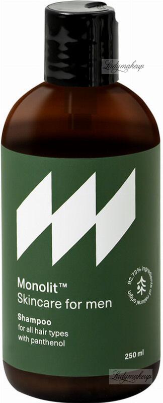 Monolit - Shampoo - Naturalny szampon do włosów z pantenolem dla mężczyzn - 250 ml