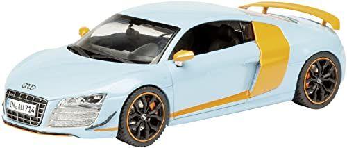 Dickie-Schuco 450722600 - Schuco - Audi R8 GT Gulf Racing 1:43 gulf-niebieski / pomarańczowy