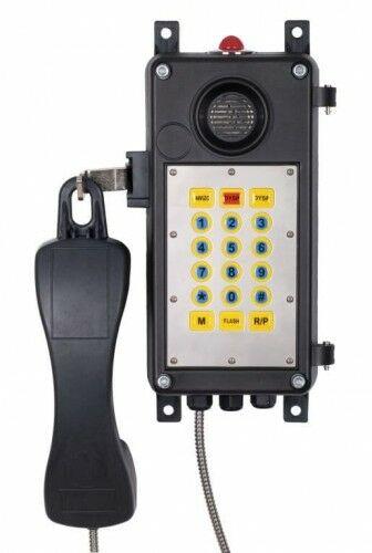 TPN-S Telefon przemysłowy + sygnalizacja - Telvis