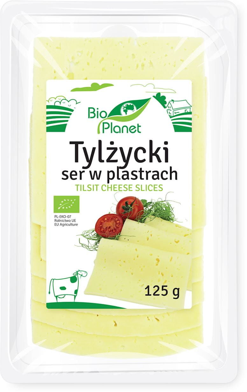 SER TYLŻYCKI PLASTRY 125 g - BIO PLANET