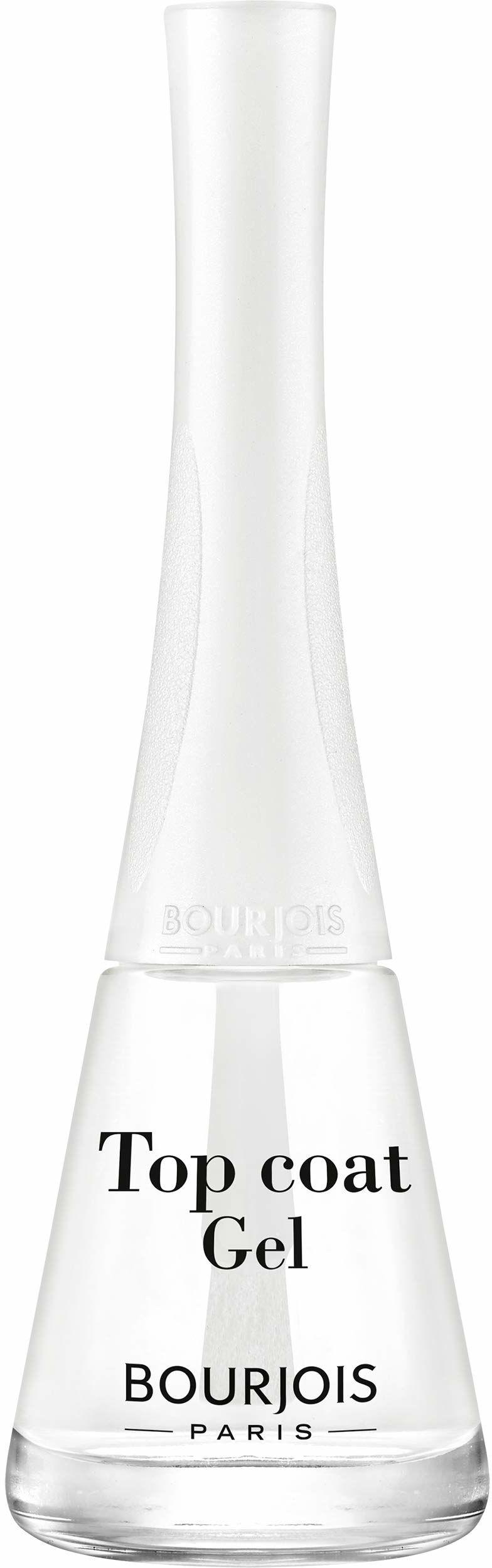 Bourjois Lakier do paznokci, 1 sekunda Top Coat, przedłuża utrzymanie lakieru do paznokci  pędzel panoramiczny  03 Top Coat, żel, 9 ml
