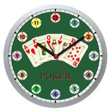 Zegar ścienny Sport Poker na czas