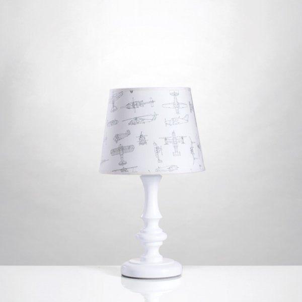 Lampka nocna samoloty - szkice samolotów