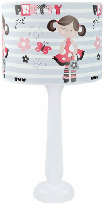 Lampa stołowa dla dzieci Pretty Girl
