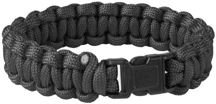 Bransoletka Paracord Helikon Survival Bracelet Black (AC-SBR-NL-01) H
