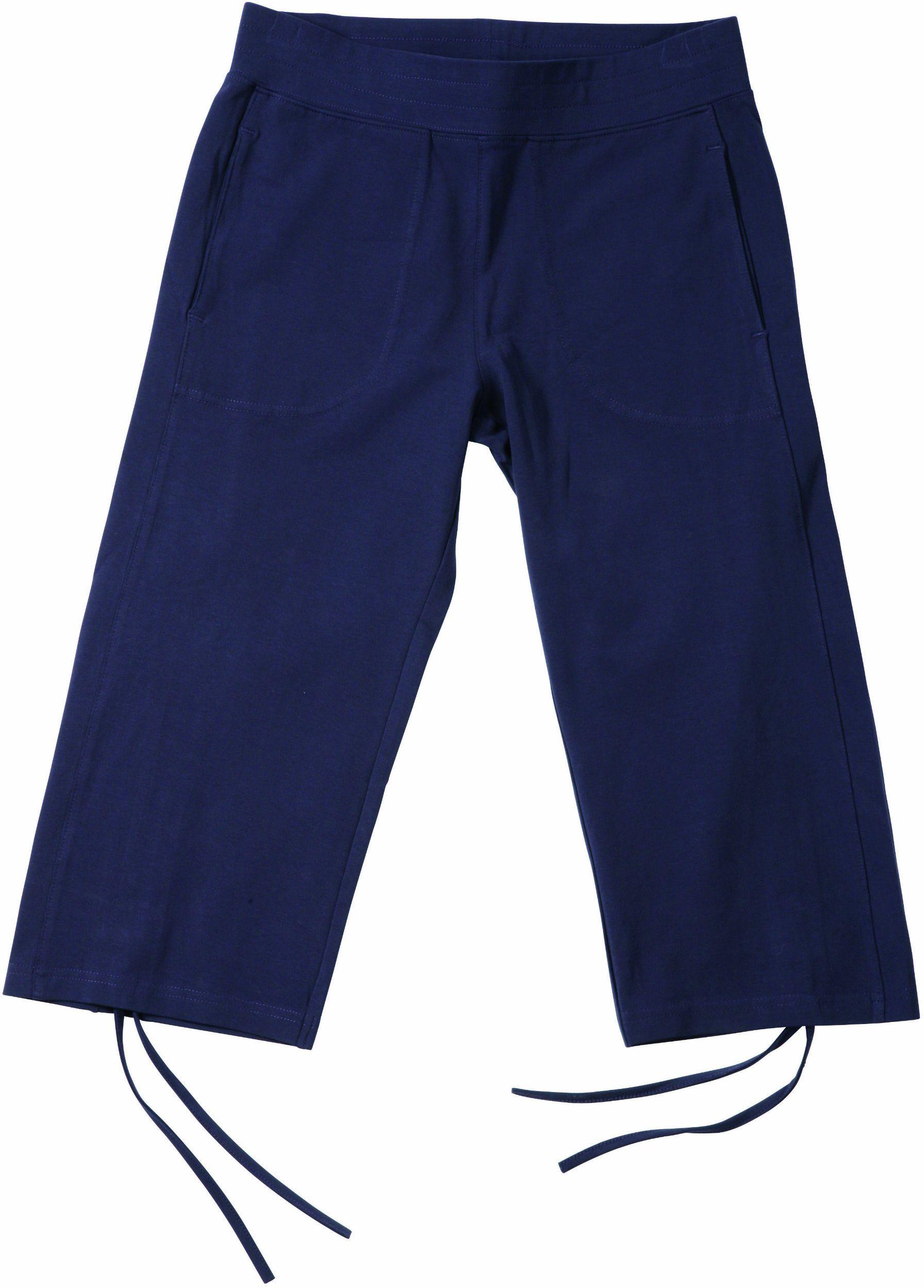 James & Nicholson Damskie spodnie fitness capri - czerwone, L