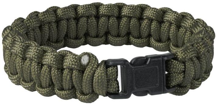 Bransoletka Paracord Helikon Survival Bracelet Olive Green (AC-SBR-NL-02) H