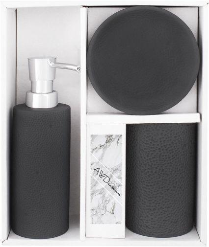 Komplet łazienkowy OTELLO czarny