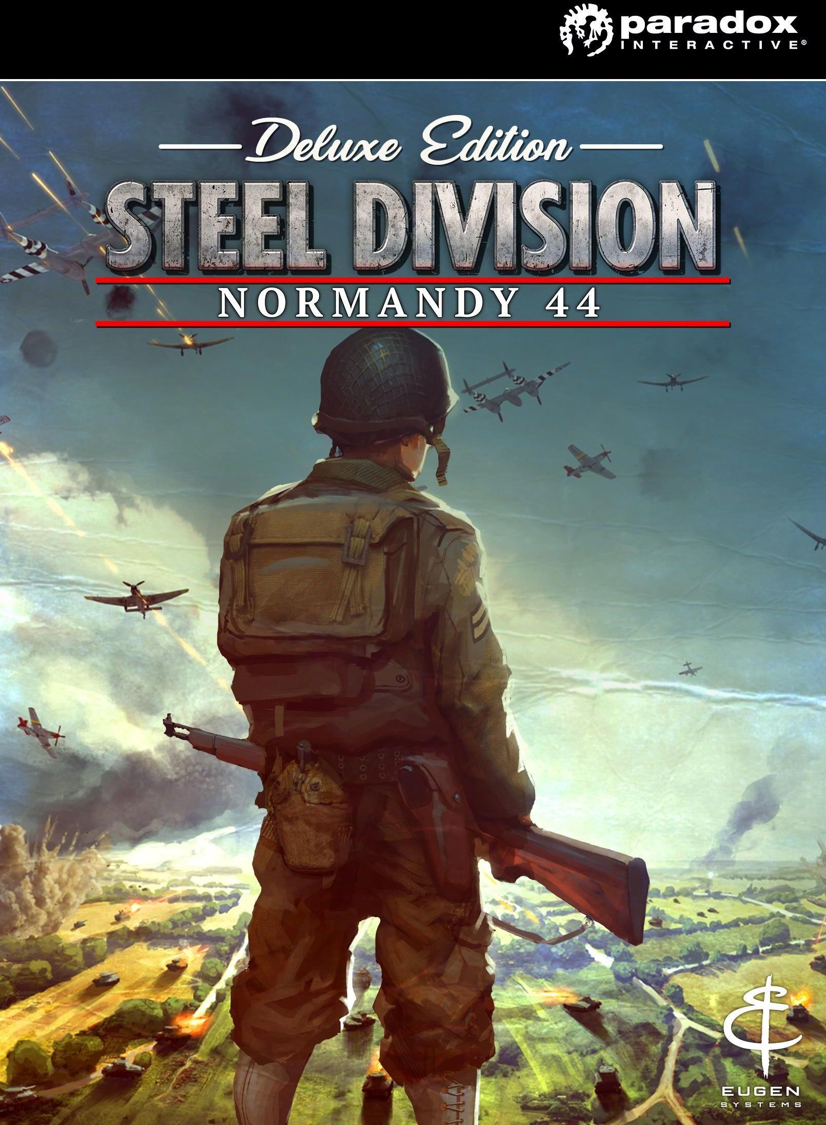 Steel Division Normandy 44 Deluxe - Klucz aktywacyjny Steam Automatyczna wysyłka w ciągu 5 minut 24/7!