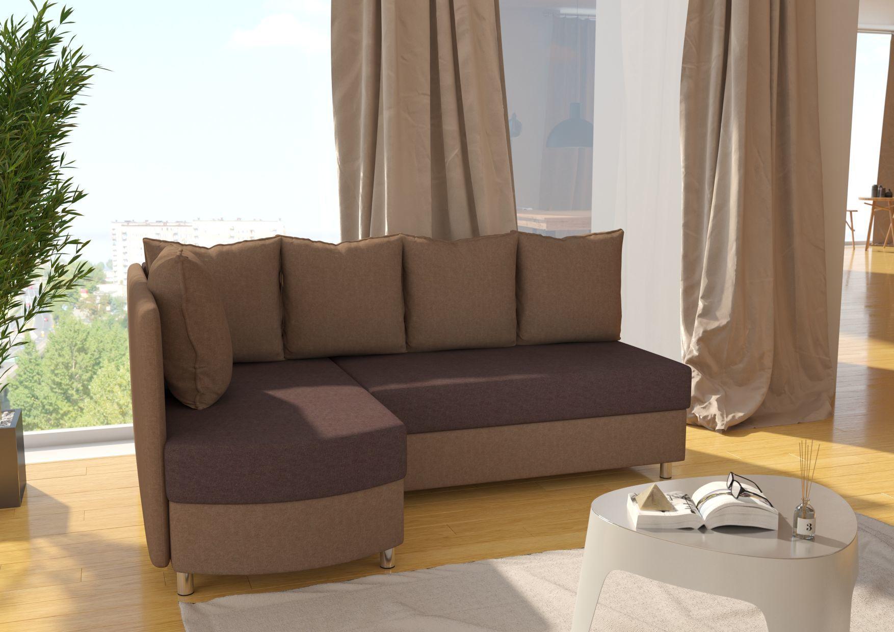 Narożnik NIKO ST producent rozkładany oparcie sofa