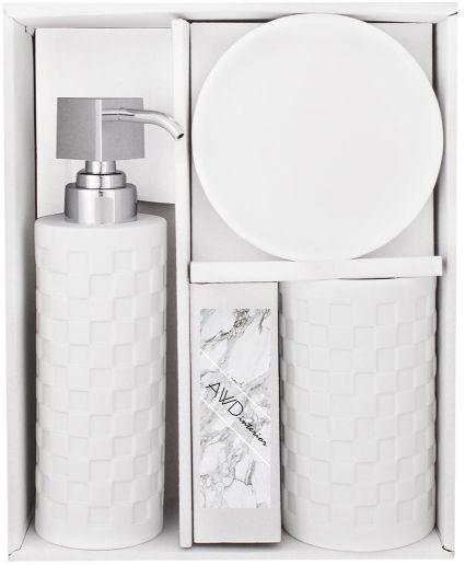 Komplet łazienkowy SWAN biały
