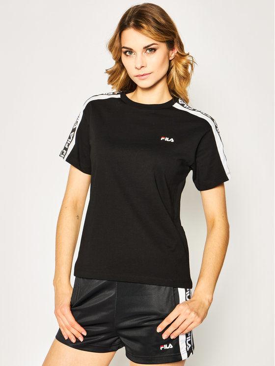 Fila T-Shirt Tandy 687686 Czarny Regular Fit