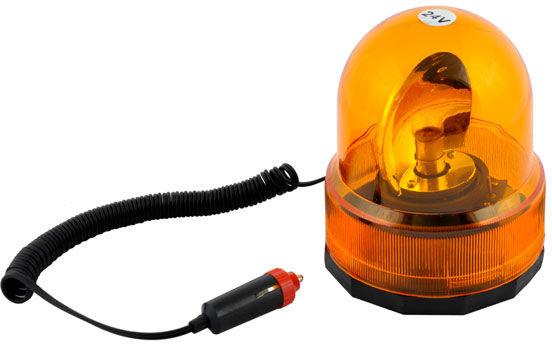 Lampa błyskowa ostrzegawcza sygnalizator kogut 24V