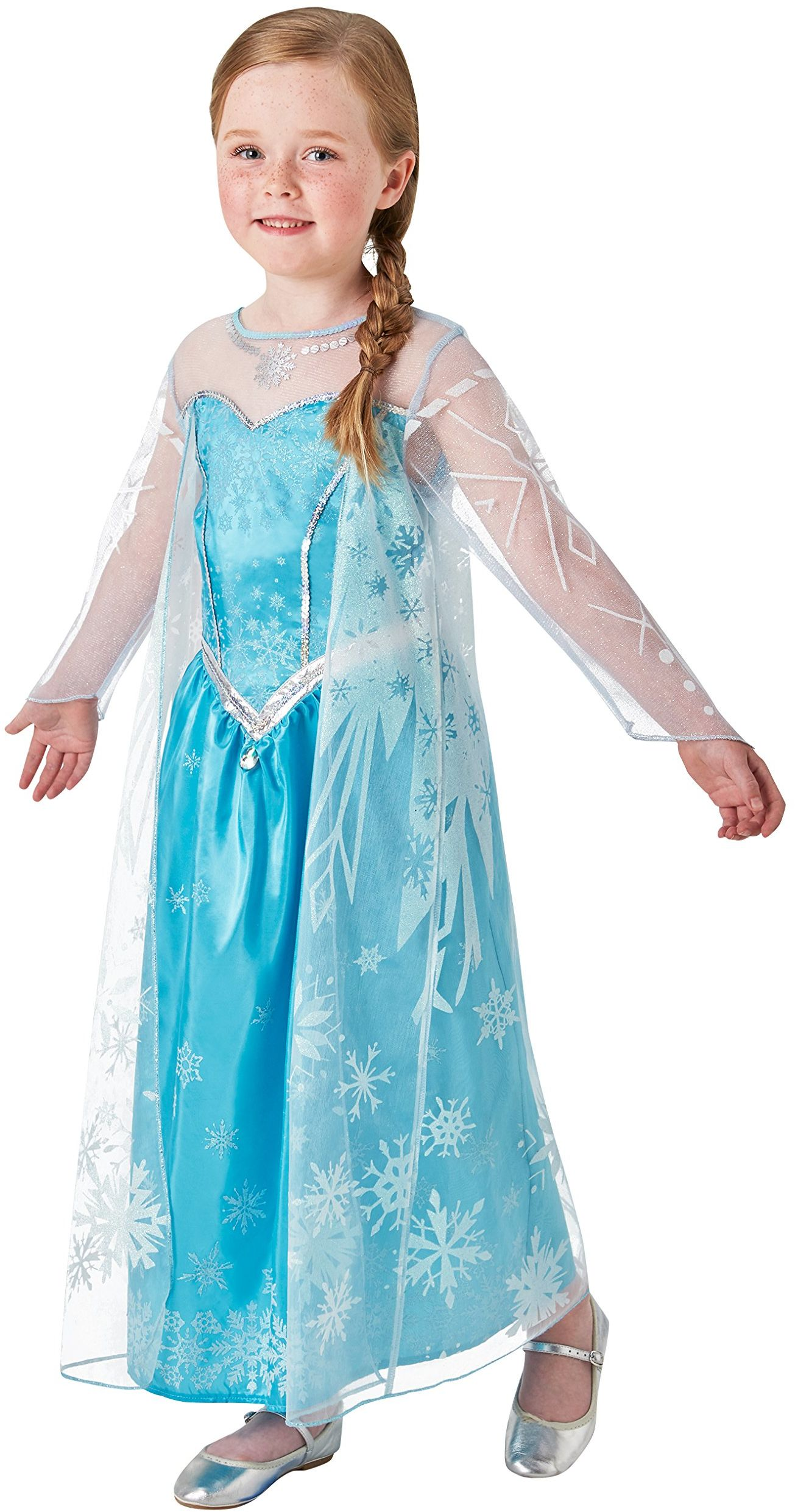 Rubie''s 3630034 - Elsa Frozen Deluxe, Action Dress Ups i akcesoria, L