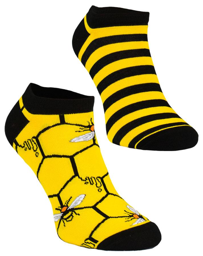 Stopki, Bee Bee Low, Todo Socks, Pszczoły, Kolorowe