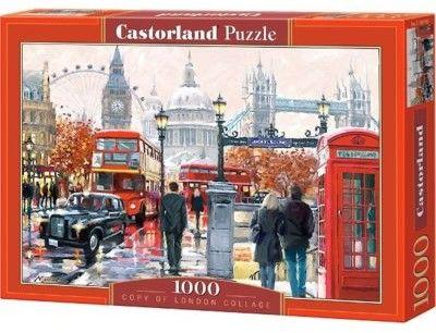 Puzzle Castor 1000 - Kolaż Londynu, London Collage