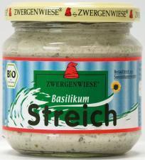 Pasta słonecznikowa z bazylią BEZGLUTENOWA BIO 180 g Zwergenwiese