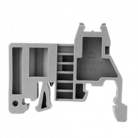Trzymacz blokada uchwyt końcowy do złączek szynowych E-PC 9,5mm DGN 4111