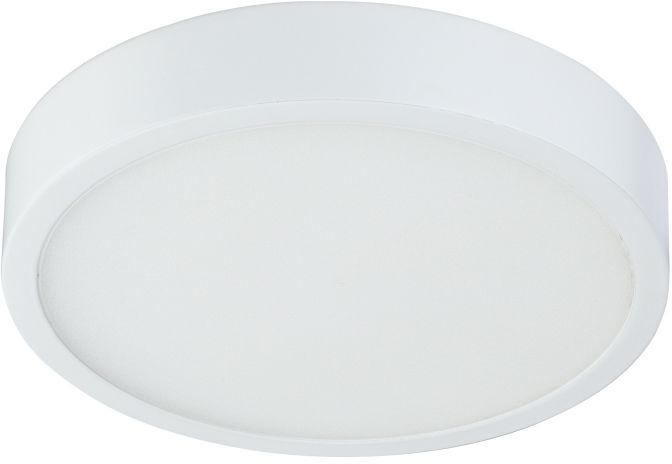 Globo ARCHIMEDES 12364-15 plafon lampa sufitowa biały ściemniacz 1xLED 15W 4000K 14,5cm IP44