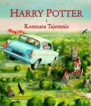Harry Potter i Komnata Tajemnic wyd. ilustrowane - J.K. Rowling