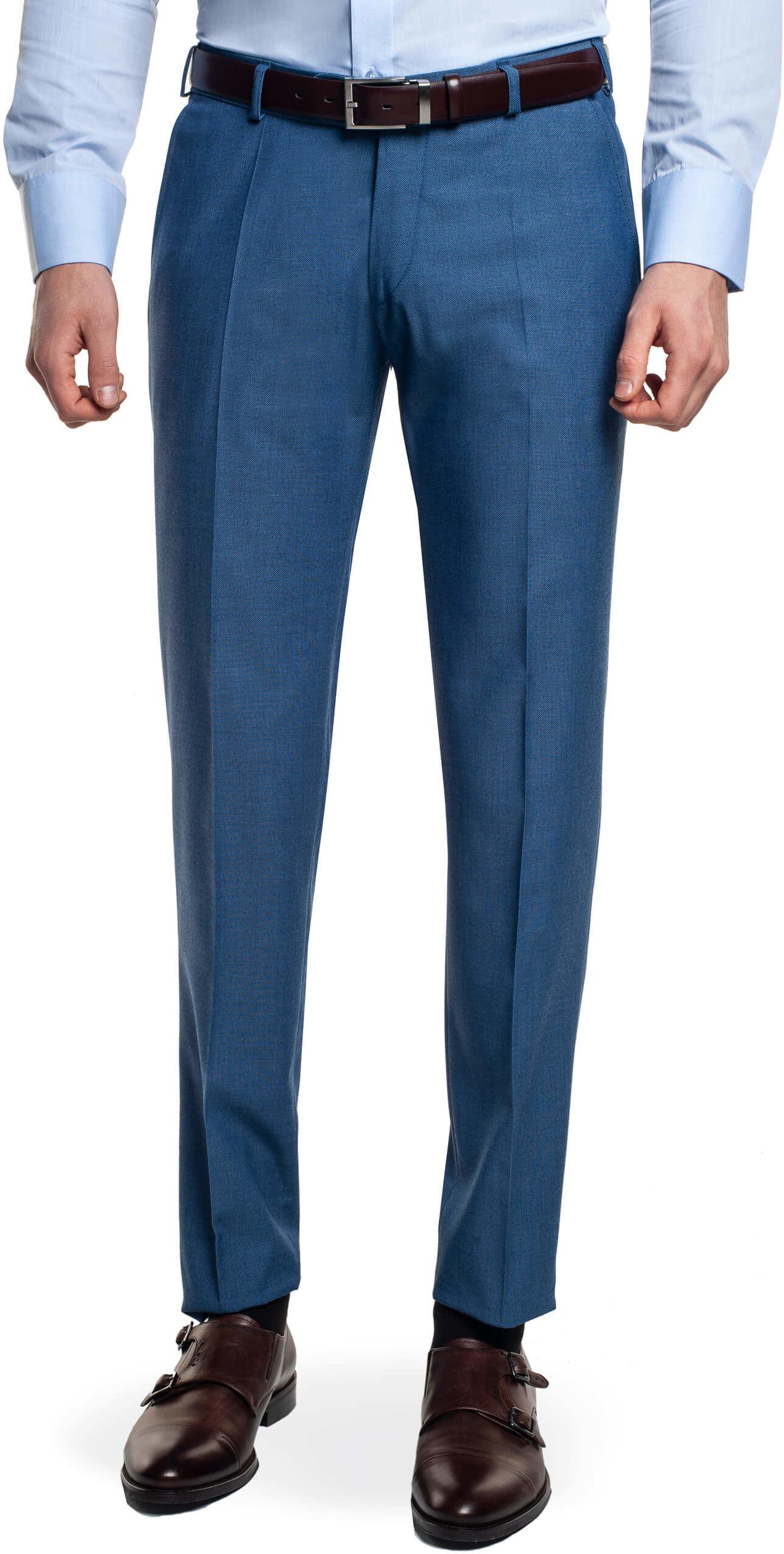 spodnie silema 315 niebieski