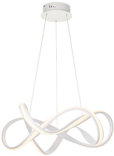 Lampa wisząca Synergy 81893 Endon nowoczesna oprawa w kolorze białego matu