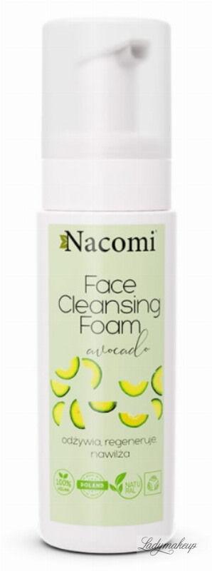Nacomi - Face Cleansing Foam Avocado - Oczyszczająca pianka do mycia twarzy - Awocado - 150 ml