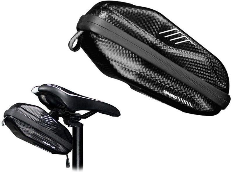 Etui torba sakwa na rower uchwyt rowerowy Wildman Bag E7s 0,8l Czarny