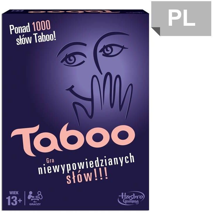 Hasbro - Gra Taboo Tabu Dzieci kontra Rodzice E4941
