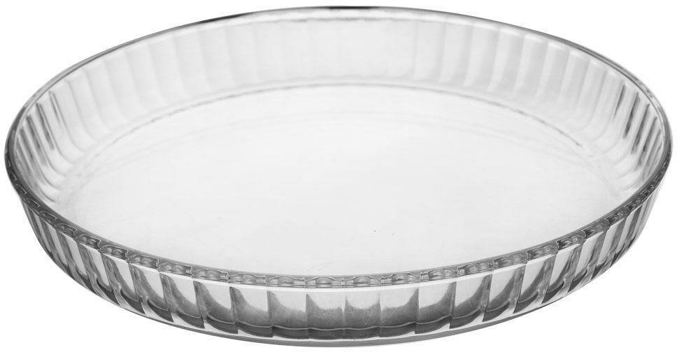 Forma na tarte pizze ciasto szklana żaroodporna