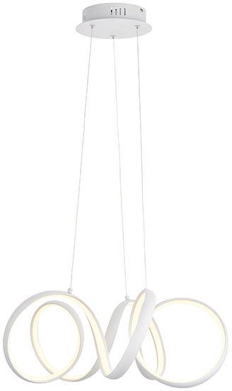 Lampa wisząca Synergy 90321 Endon nowoczesna oprawa w kolorze białym