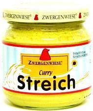 Pasta słonecznikowa z curry BEZGLUTENOWA BIO 180 g Zwergenwiese
