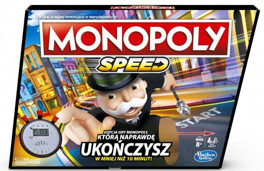 Hasbro - Monopoly Speed E7033