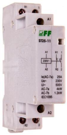 Stycznik modułowy 25A 1Z 1R 230V AC ST25-11