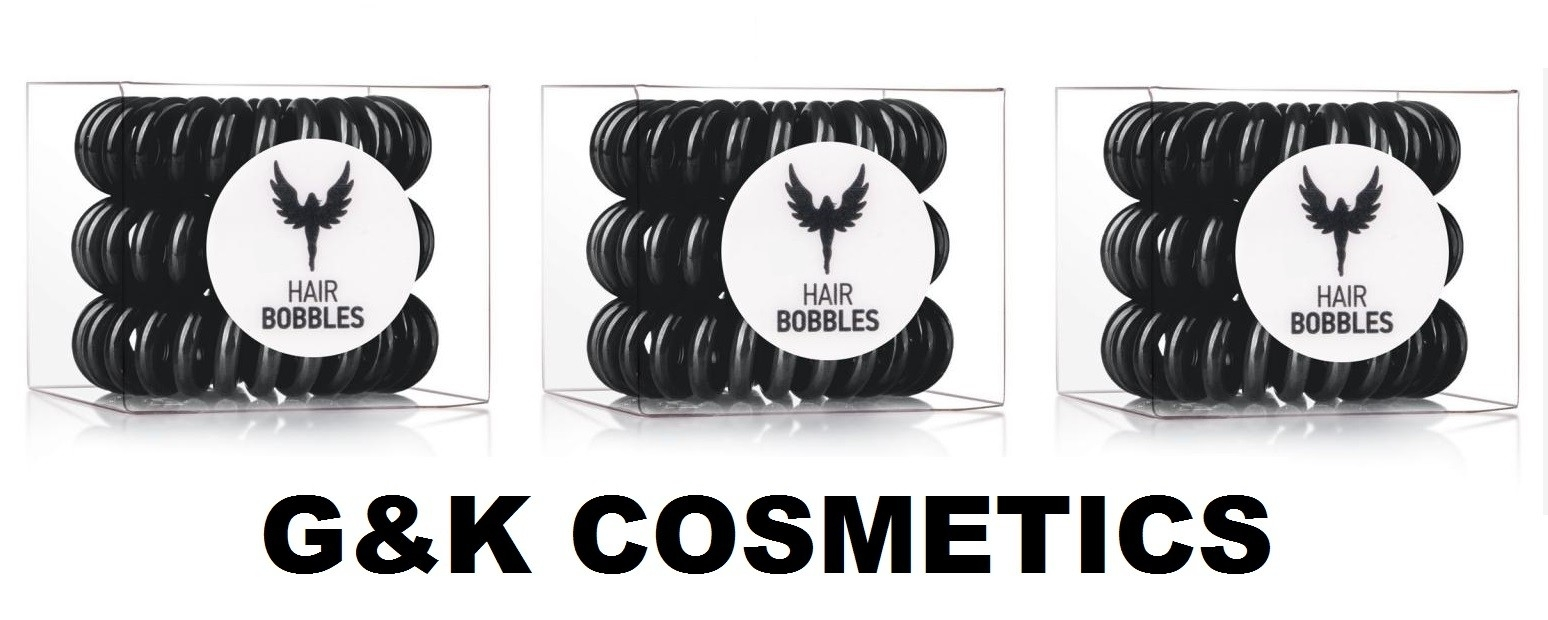 HAIR BOBBLES BLACK - GUMKI DO WŁOSÓW 3SZT HIT!!!