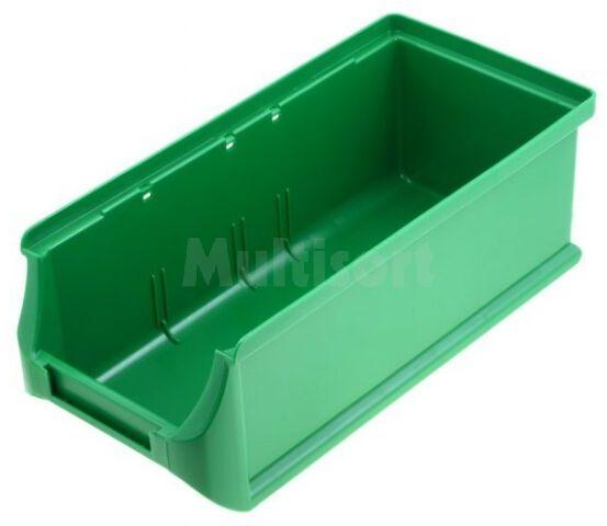 Pojemnik warsztatowy 75x102x215mm zielony plastik