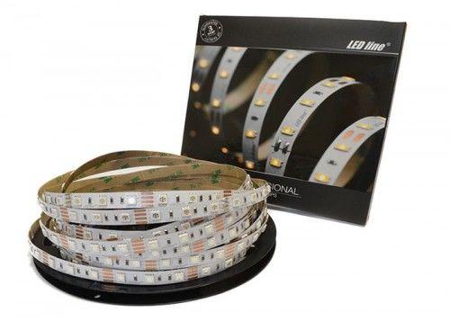 Taśma LED LEDline PRO RGB 300SMD5060 IP20 - 5m.