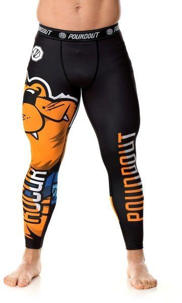 Poundout legginsy na siłownie męskie Kocur
