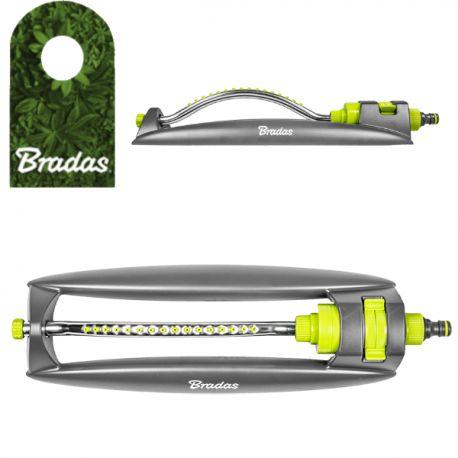 Kompaktowy zraszacz wahadłowy aluminiowe ramię 16 dysz LIME LINE LE-6302 Bradas 2198